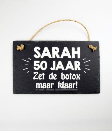 Leisteen - Sarah