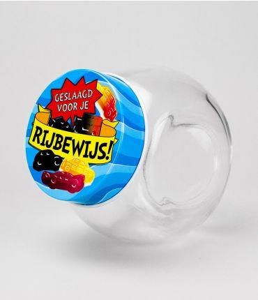 Candy Jars - geslaagd rijbewijs