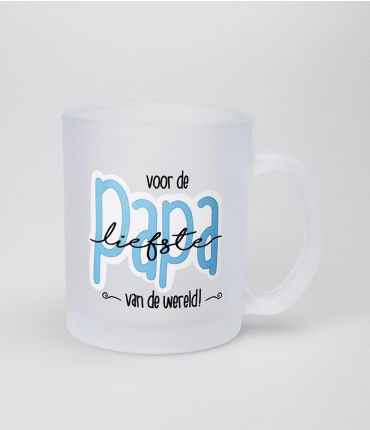 Frosted Mugs - Liefste Papa