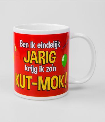 Funny Mugs - eindelijk jarig
