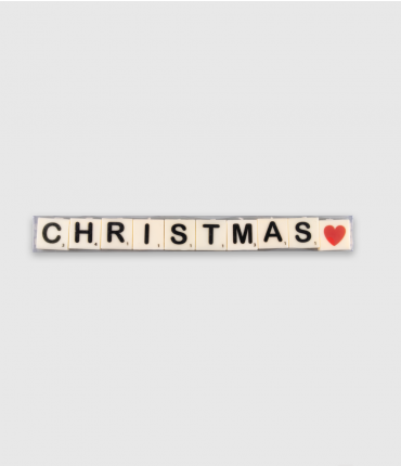 Letterkaarsjes tekst - Christmas