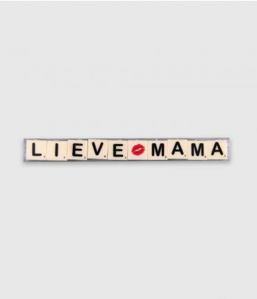 Letterkaarsjes tekst - Liefste mama