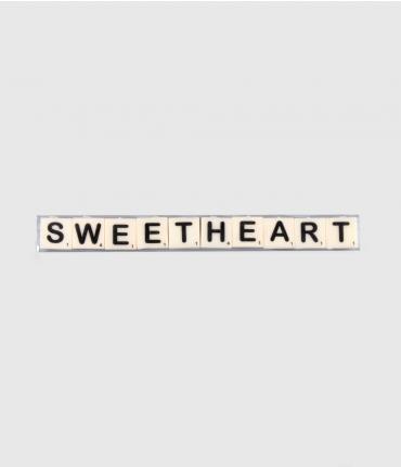 Letterkaarsjes tekst - Sweetheart