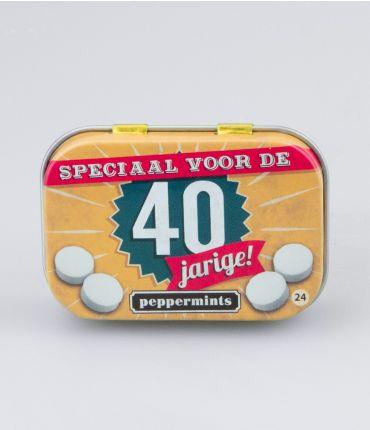 Retro Mints - 40 jarige