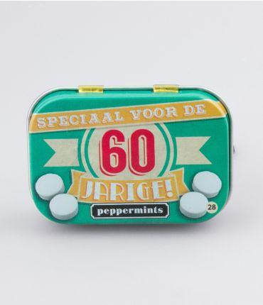 Retro Mints - 60 jarige