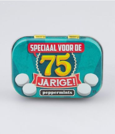 Retro Mints - 75 jarige