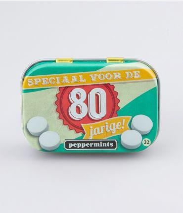 Retro Mints - 80 jarige