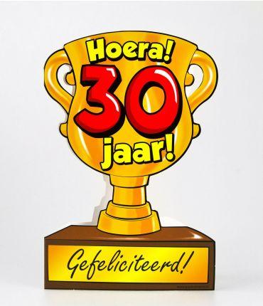 Trofee kaart - 30 jaar