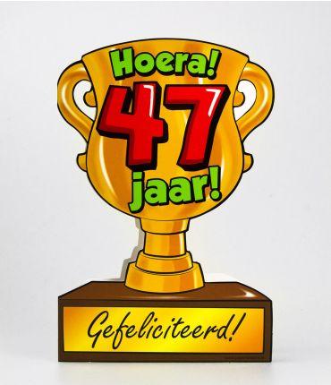 Trofee kaart - 47 jaar