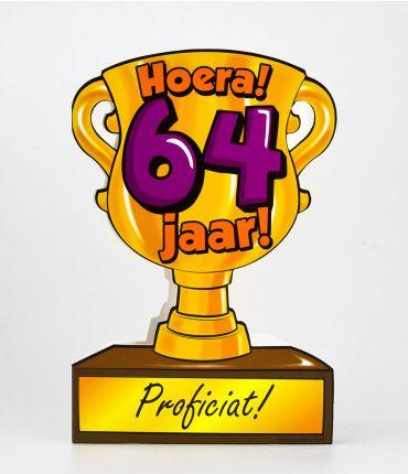 Trofee kaart - 64 jaar