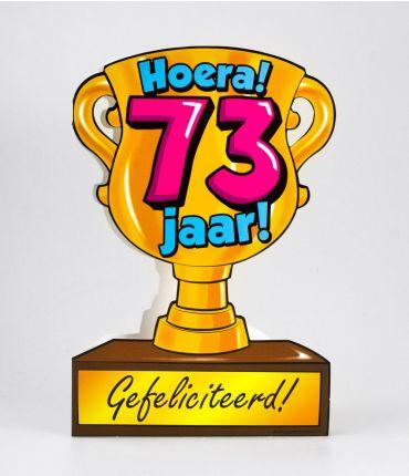 Trofee kaart - 73 jaar