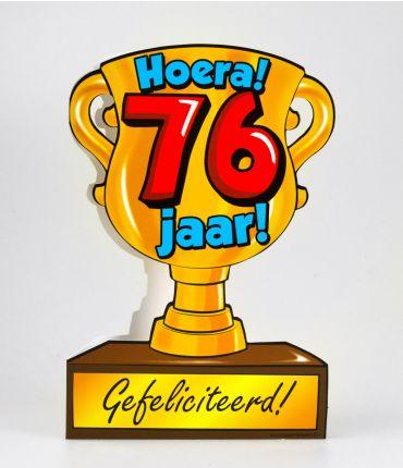 Trofee kaart - 76 jaar