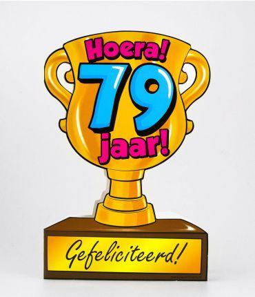 Trofee kaart - 79 jaar