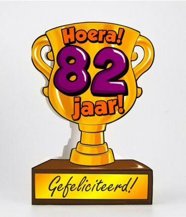 Trofee kaart - 82 jaar