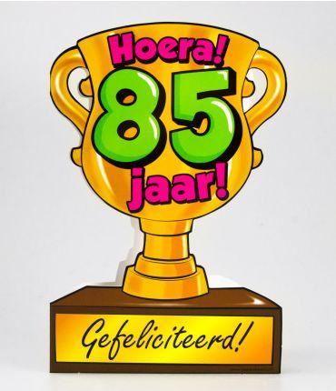 Trofee kaart - 85 jaar