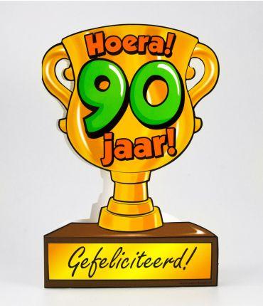Trofee kaart - 90 jaar
