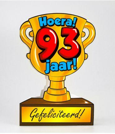 Trofee kaart - 93 jaar