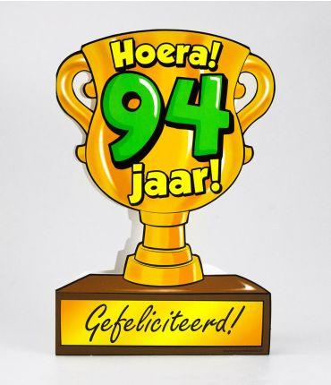 Trofee kaart - 94 jaar