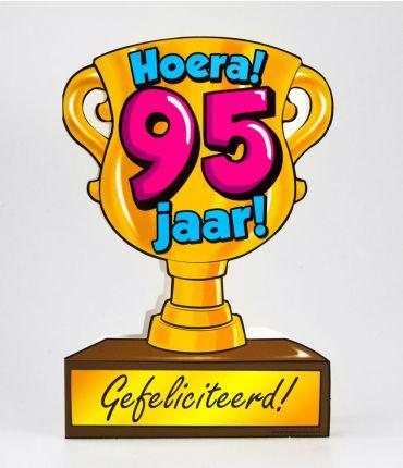 Trofee kaart - 95 jaar