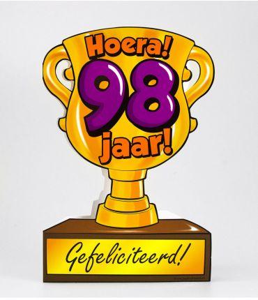 Trofee kaart - 98 jaar