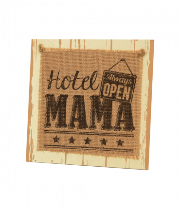 Wooden sign - Mama