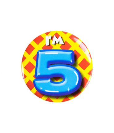 Button klein - i'm 5