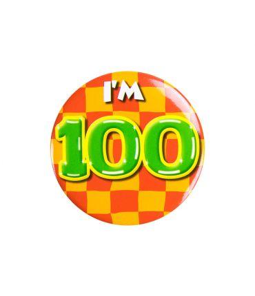 Button klein - i'm 100