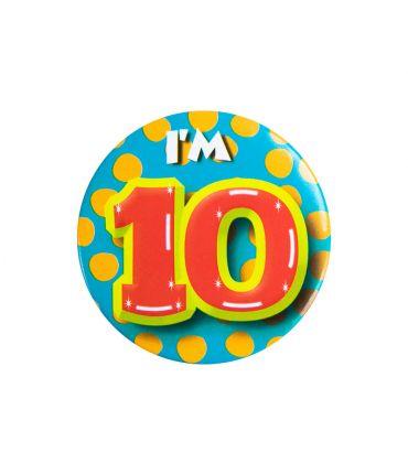 Button klein - i'm 10