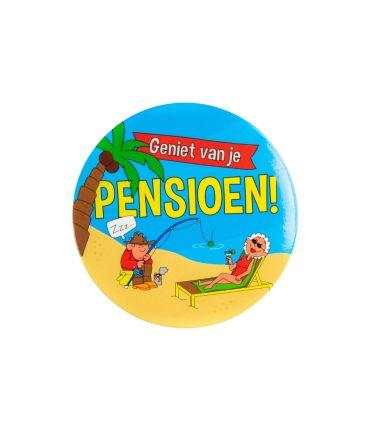 Button klein - Pensioen
