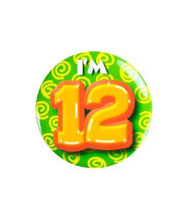 Button klein - i'm 12