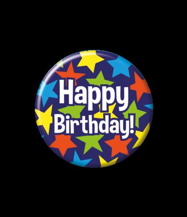 Button klein - Happy birthday