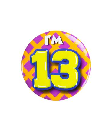 Button klein - i'm 13