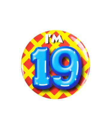 Button klein - i'm 19