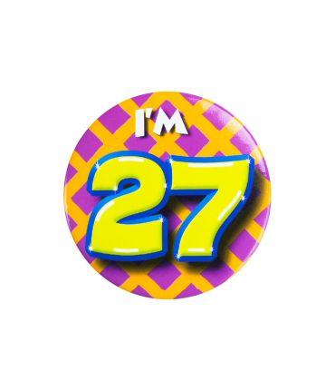 Button klein - i'm 27