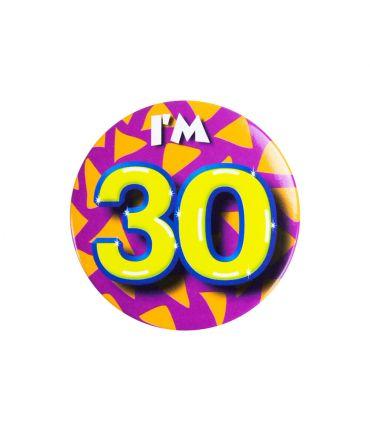 Button klein - i'm 30