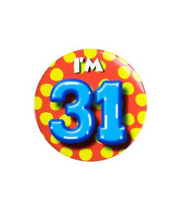 Button klein - i'm 31