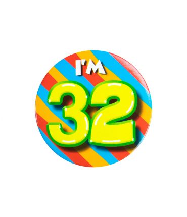 Button klein - i'm 32