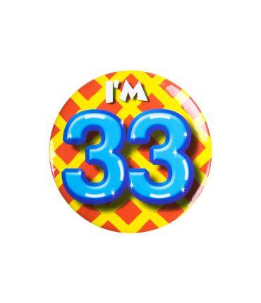 Button klein - i'm 33