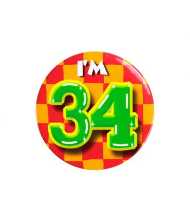 Button klein - i'm 34