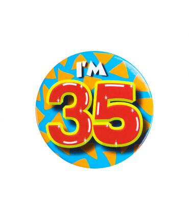 Button klein - i'm 35