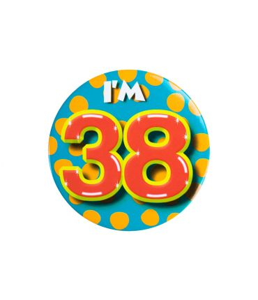Button I'm 38