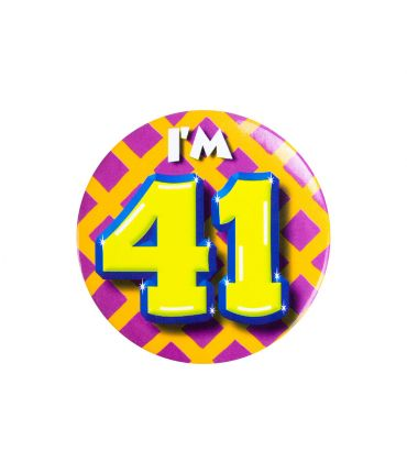 Button klein - i'm 41