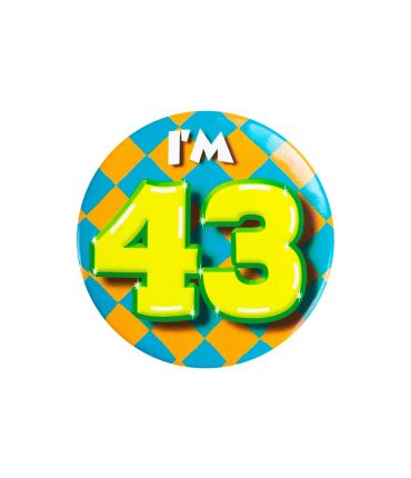 Button klein - i'm 43
