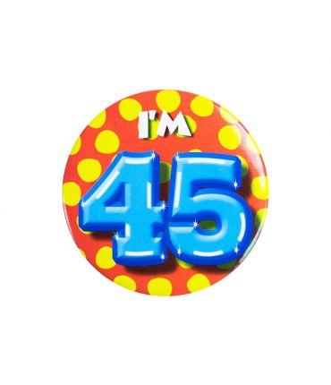 Button klein - i'm 45