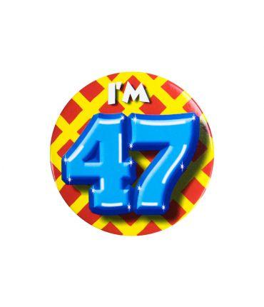 Button klein - i'm 47