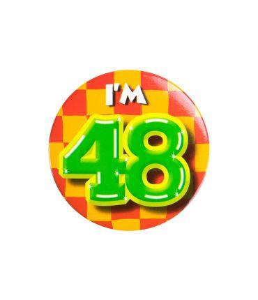 Button klein - i'm 48