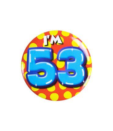 Button klein - i'm 53