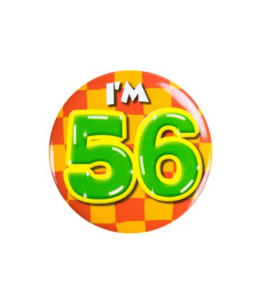 Button klein - i'm 56