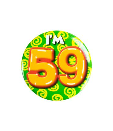 Button klein - i'm 59