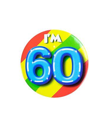 Button klein - i'm 60